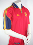 Preview: Spain Jersey Euro 2000 size XL Home Version in red Adidas