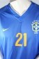 Preview: Nike Brazil Jersey 21 Geromel 2008-10 away blue men's S/M/L/XL/XXL