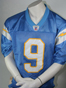Preview: Reebok San Diego Chargers jersey 9 Drew Brees NFL blue shirt men's M
