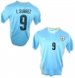 Preview: Puma Uruguay jersey 9 Luis Suarez World Cup 2014 home Matchworn jersey L