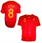 Preview: Adidas Spain jersey 8 Xavi World Cup 2006 red home men's L