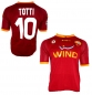 Preview: Kappa AS Rom jersey 10 Francesco Totti 2007/08 home red men's M