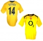Preview: Nike FC Arsenal jersey 14 Thiery Henry 2005/06 yellow CL final men's XL