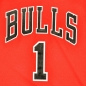 Preview: Adidas Chicago Bulls jersey with shorts 1 Derrick Rose red basketball NBA men's 176cm S-M