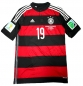 Preview: Adidas Germany jersey 19 Mario Götze WC 2014 away men's S-M 176cm
