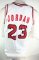 Preview: Champion Chicago Bulls jersey 23 Michael Jordan white NBA men's M L XXL