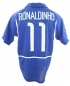 Mobile Preview: Nike Brazil jersey World Cup 2002 11 Ronaldinho away blue world champion men's L