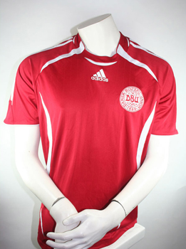 Denmark jersey size M Euro 2008 Adidas Home Red
