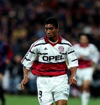 Adidas FC Bayern München Trikot 9 Giovane Elber 1999/2000 Opel Herren S-M(176cm)/M