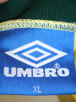 Umbro brazil jersey 11 Romario World cup 1994 champion home men's XL