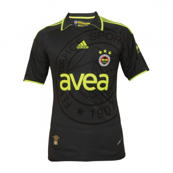 Adidas Fenerbahce Istanbul jersey 2009/10 new black away 3rd men's M
