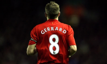 Adidas FC Liverpool Trikot 8 Steven Gerrard 2006 08 Schwarz