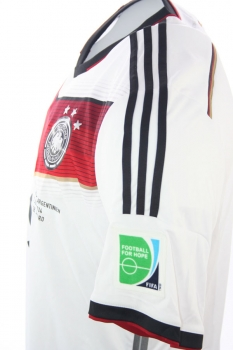 Adidas Germany Jersey 8 Mesut Özil World Cup WC 2014 home White New men's  S-M(176)/XL