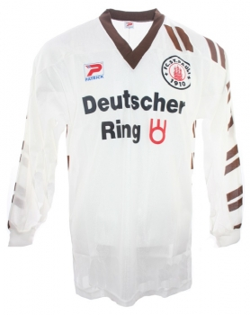 patrick fc st pauli trikot 7 leonardo manzi 1992 93. Black Bedroom Furniture Sets. Home Design Ideas