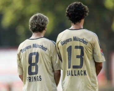 Bayern Trikot Gold