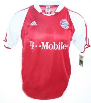 Adidas FC Bayern Munich jersey 2003/04 T-mobile home men's S-M 176cm or M (B-Stock)