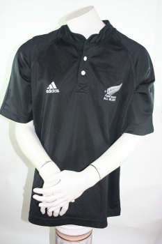Adidas New Zealand jersey All Blacks Rugby home men's L