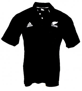 Adidas New Zealand jersey All Blacks Rugby home cotton men's L