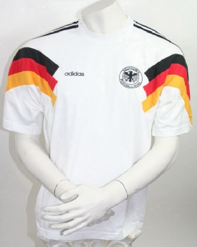 Adidas Germany DfB jersey T-Shirt 1990 World Cup 90 Euro 1992 home men's S-M 176cm