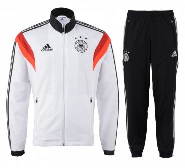 Adidas Germany Tracksuit World Cup 2014 jacket & trousers home kids 164cm woman (B-Stock)