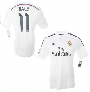 finest selection fccb7 7f93b Adidas Real Madrid jersey 11 Gareth Bale 2014/15 Emirates home men's M or L
