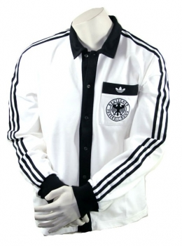 ce9256f02 Adidas Germany jacket World Cup 1974 jersey retro World Champions white  men s M or XL