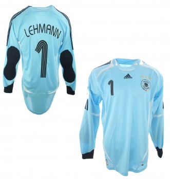 Adidas Germany jersey 1 Jens Lehmann 2006 keeper DFB home men's S-M=176cm, M or L