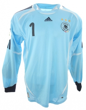 Adidas Germany jersey 1 Oliver Kahn 2006 keeper DFB home new men's XL