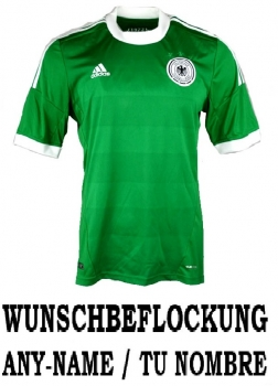 Adidas Germany DfB jersey 2012 away green men's L (B-Stock)