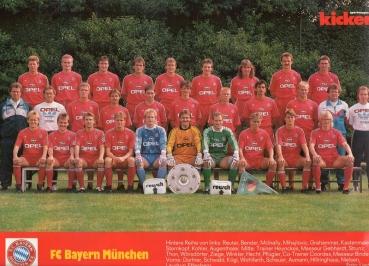 d42dd97f0475b0 Adidas FC Bayern München Trikot 10 Thon Laudrup 1989 91 Rot Heim Opel Herren