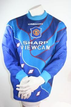 5400f0d9fd3 Umbro Manchester United keeper jersey 1 Peter Schmeichel 1994/95 Sharp  men's S/M