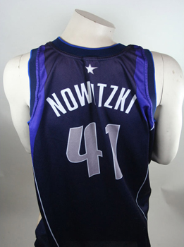 d1e74c815 Champion Dallas Mavericks jersey 41 Dirk Nowitzki Mavs NBA basketball away  men