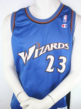 reputable site 9c694 8a6c8 Champion Washington Wizards Jersey Michael Air Jordan 23 NBA men's XL