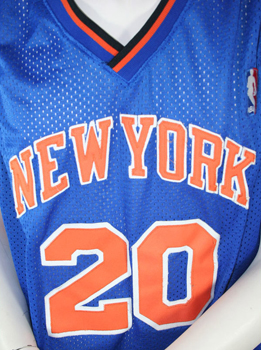 New York Knicks jersey Houston 20 Reebok XXXL NBA