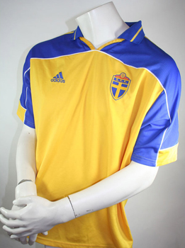 Sweden jersey 2000-02 Euro - WC Adidas size XL