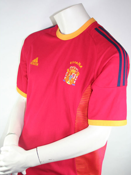 Spain jersey Adidas size L WC 2002 Japan and South Korea red