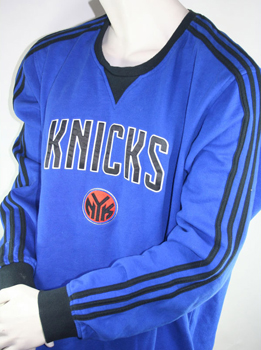 Adidas New York Knicks Sweatshirt jersey Authentic NBA blue home men's XL