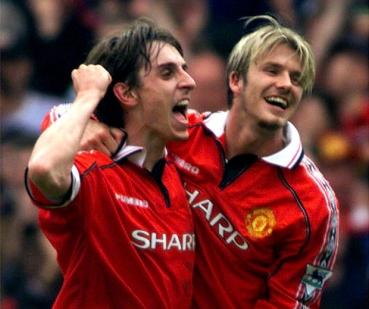 Manchester Utd Champions League Final 1999 Shirt Medium