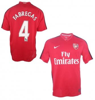 b96f861ef6a Nike FC Arsenal London jersey 4 Cesc Fabregas 2008-2010 home men s L or XL
