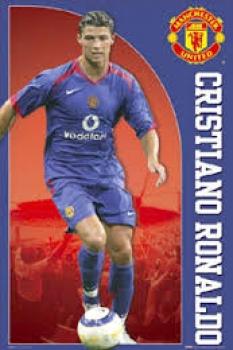 lowest price b805f df68d Nike Manchester United jersey 7 Cristiano Ronaldo 2004-06 Vodafone blue  men's XL