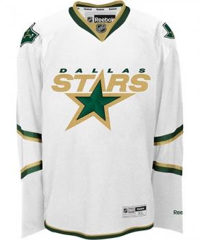 quality design 65f42 18604 Reebok Dallas Stars Jersey Ice hockey NHL home white Replica men's XXL