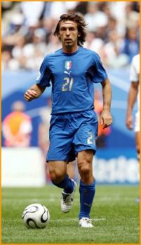 Puma Italia camiseta 21 Andrea Pirlo Copa del Mundo 2006 senor S M L ... 1b5f21851ff30