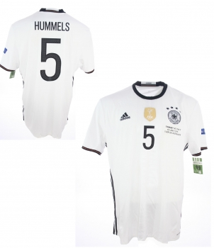 buy popular e0a19 c34e6 Adidas Germany jersey 5 Mats Hummels Euro 2016 home men's XXL
