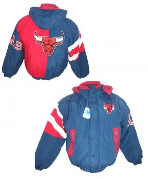8fcd7effc9712a Starter Chicago Bulls jacket Winter 23 Michael Jordan jersey NEW with tags  men s L