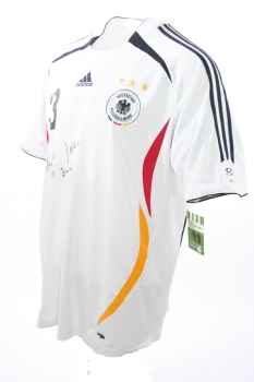 Authentic Version XL DFB Mats Hummels signiert Deutschland Trikot
