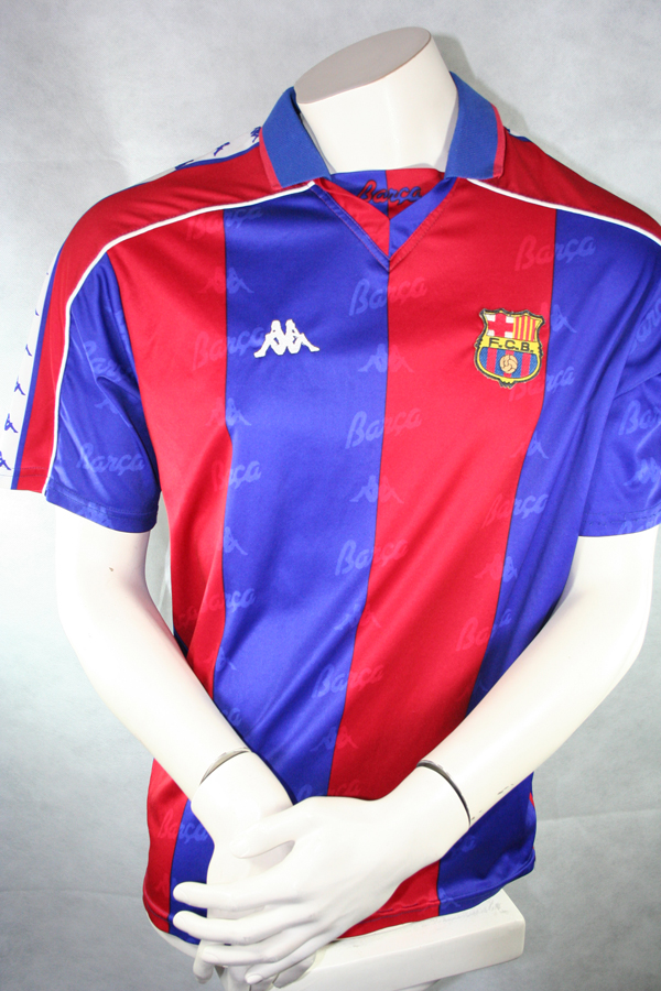 Kappa FC Barcelona Camiseta 23 Ivn de la Pe a Home 1993 94 - M 94d4506392197