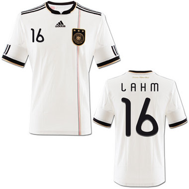 new arrivals 39058 d68c0 Adidas Germany jersey 16 Philipp Lahm 2010 DFB home white men's S