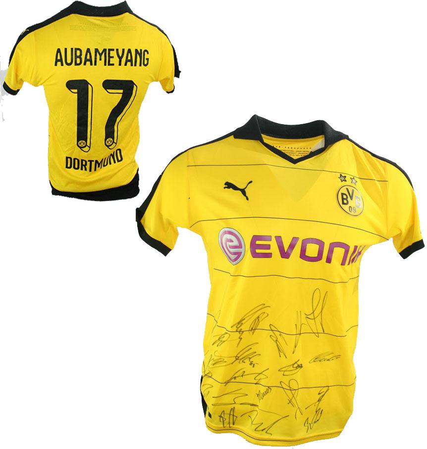 Authentic Version Mario Götze signiert XL BVB Deutschland Trikot DFB