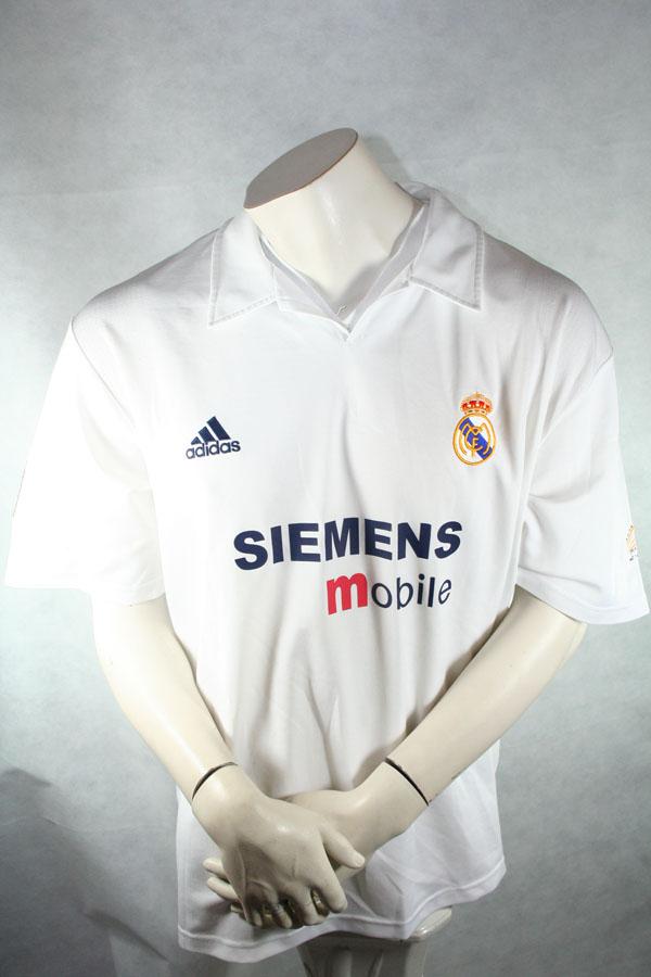 save off 370c4 c2a38 Adidas Real Madrid Jersey 7 Raúl 2002/03 Siemens 100 years ...
