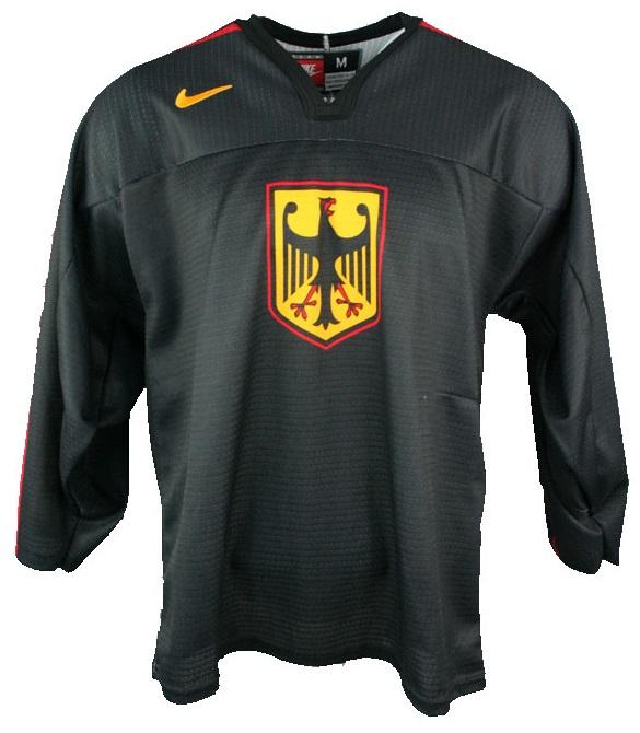 good looking outlet boutique official store Nike Deutschland Eishockey Trikot Schwarz DEB Herren S/M/L ...